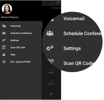 Houd een audioconferentie met de webclient of 3CX-apps