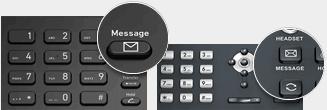Gebruik uw telefoon om voicemails te beluisteren