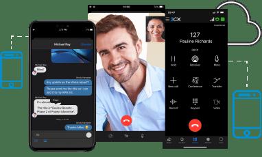 Laat uw team eenvoudig thuiswerken met de telefooncentrale van 3CX